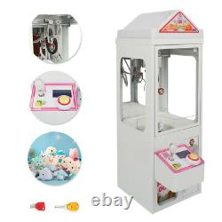 110V Mini Claw Crane Machine Candy Toy Grabber Catcher Carnival Charge Play Mall