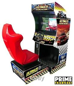 135 Racing Games in 1 Arcade Machine with Seat Prime Arcades