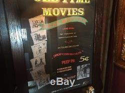 1920's Bennett Automatic Drop-Card Movie Machine CHARLIE CHAPLIN Watch Video