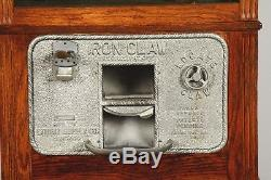1928 Exhibit Supply Iron Claw Nickel Arcade Coin Operated Prize Digger Machine