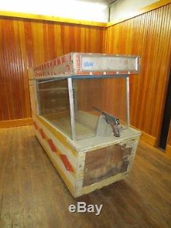 1961 Bally Sharpshooter Arcade Shooting Game Machine Man Cave Coin Op
