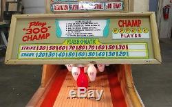 1961 Chicago Coin PRINCESS Big Ball Bowler Bowling Machine 16