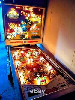 1964 WILLIAMS Stop N Go Pinball Machine Rare Arcade Game Room Low Production