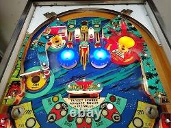 1976 Williams SPACE MISSION pinball machine fully shopped working -FREE SHIPPING