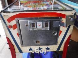 1977 Williams Liberty Bell Pinball Machine Arcade Game Parts Repair Kentucky
