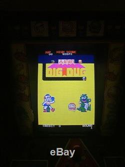 1980 Atari DIG DUG #450 of 500 RARE Cabaret Cabinet Arcade Machine DEDICATED WOW