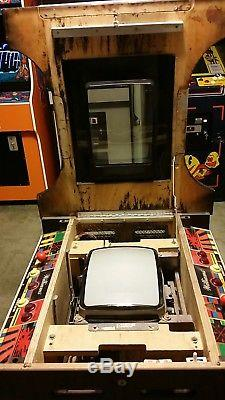 1980 Williams Electronics Defender Cocktail Table Coin Op Arcade Machine