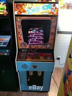 1981 Donkey Kong Original Full Size Refurbished Arcade Machine
