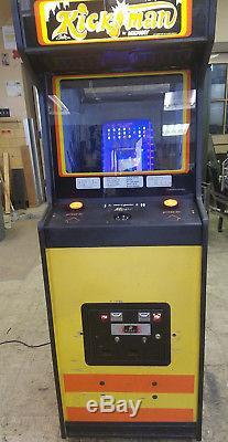 1981 Midway Kickman Video Arcade Machine Game