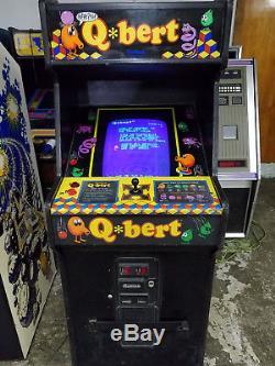1982 Gottlieb Qbert Classic Arcade Machine Q Bert