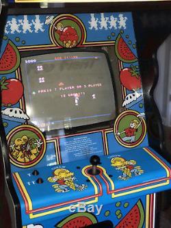 1983 Atari Food Fight Video Arcade Machine