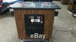 1983 Midway Budweiser Bud Tapper Cocktail Table Video Arcade Machine