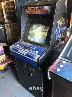 1988 Sega Shinobi Arcade Machine Game Cabinet Working