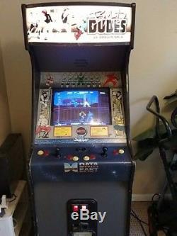 1988 data east bad dudes arcade machine