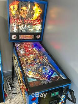 1992 Data East Lethal Weapon 3 Pinball Machine Arcade Game