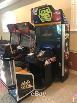 1998 SEGA Star Wars Trilogy Arcade Machine 50 Sit-Down