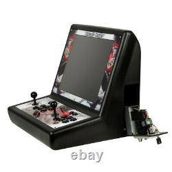 19 Pandoras Box 9 2500 in 1 Arcade Game Machine Double Joystick &Coin Inserting