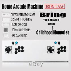2017 Metal Pandora's Box 4s Home Arcade Machine Joystick HD 680 In 1 Video Games