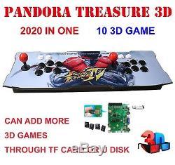 2020 in 1 Pandora's Box Treasure 3D Arcade Console Machine Retro VideoGame 1080P