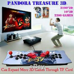 2200 Games Pandora Box 3D Arcade Console Retro Video Game Machine Double Sticks
