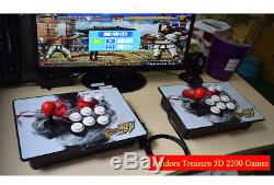 2200 Games Pandora Box Treasure 3D+ Arcade Console Machine Retro Video Game HDMI
