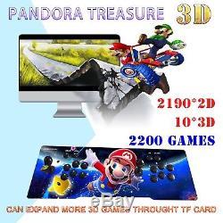 2200 in 1 Arcade Console Machine Pandora's Box Treasure 3D Retro VideoGame Mario