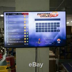 2448 in 1 Wifi Games Pandora's Box 3D Arcade Console Machine Home Video Games US
