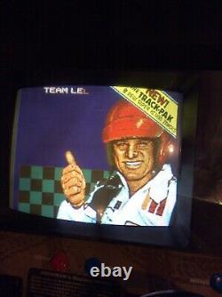 2 Player Ivan Stewart Off Road Arcade Machine With Trac Pak