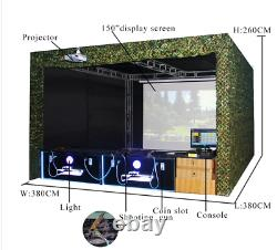 3D Air Gun Hunting Coin Operated Arcade VR Shooting Simulator Machine SEE VIDEO