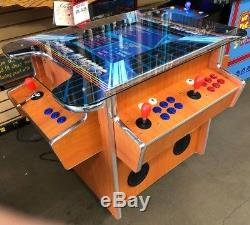 3 SIDE Arcade Cocktail S with over 1000 Game in 1 Machine -light Cherry cabinet