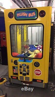 42 ICE Plush Bus Crane Claw Machine Arcade Game #3! Shipping Available