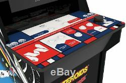 4 Foot Tall Asteroids Arcade Video Game Machine with 3 Bonus Games by Arcade1UP