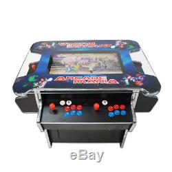4 PLAYER Cocktail Arcade Machine1162 Classic Games 140LB commercial grade
