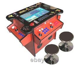 4 PLAYER Cocktail Arcade Machine3500 Classic Games 22 SCREEN BLACK