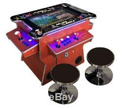 4 PLAYER Cocktail Arcade Machine3500 Classic Games 26.5 SCREEN CHERRY
