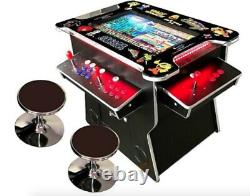 4 PLAYER Cocktail Arcade Machine 2475 Classic Games 165LB commercial 0339
