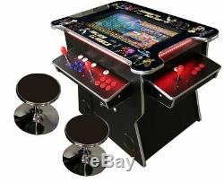 4 PLAYER Cocktail Arcade Machine 2475 Classic Games 165LB commercial 03WV