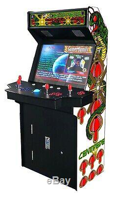 4 PLAYER STANDUP Arcade Machine3500 Classic Games 32 inch SCREEN cocktail