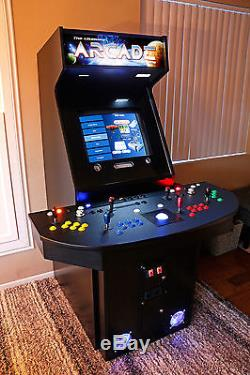 4 Player Arcade Machine Mame. Ready to play. With computer and all electronics