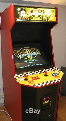 600+ in 1 multigame game arcade machine Street Fighter Alpha 3rd Strike, Simpsons