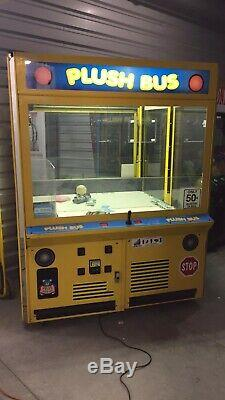 60 ICE Plush Bus Crane Claw Machine Arcade Game! Shipping Available