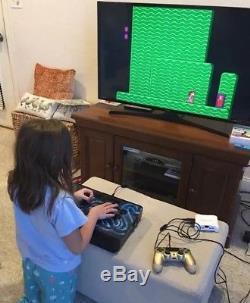 6k+ VideoGames GAMING ARCADE Machine NES SNES X-Men NeoGeo Joystick MAME