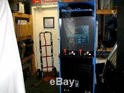750 in multigame arcade machine (Restored) Brand New Cabinet (Asteroids)