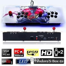 800 in 1 Pandora's Box 4s Retro Video Games Double Stick Arcade Console Machines