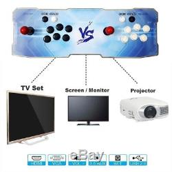 999 Video Games Arcade Console Machine Double Joystick Pandora's Box 5s HDMI VGA