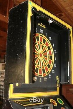 ARACHNID English Mark Super 6 Dart Board Coin-operated Machine-Challenge! EVC