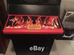 ATARI Indiana Jones TEMPLE of DOOM Arcade Game 1985 DEDICATED MACHINE cabinet
