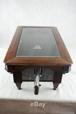 Abt Mfg Billiard Practice Pool Game With Gun Works Original Penny Cent Machine