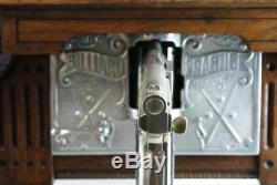 Abt Mfg Billiard Practice Pool Machine Works On A Penny Complete Original Works