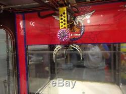 Acme Crane Company By Benchmark Games Plush Claw Arcade Game Redemption Machine